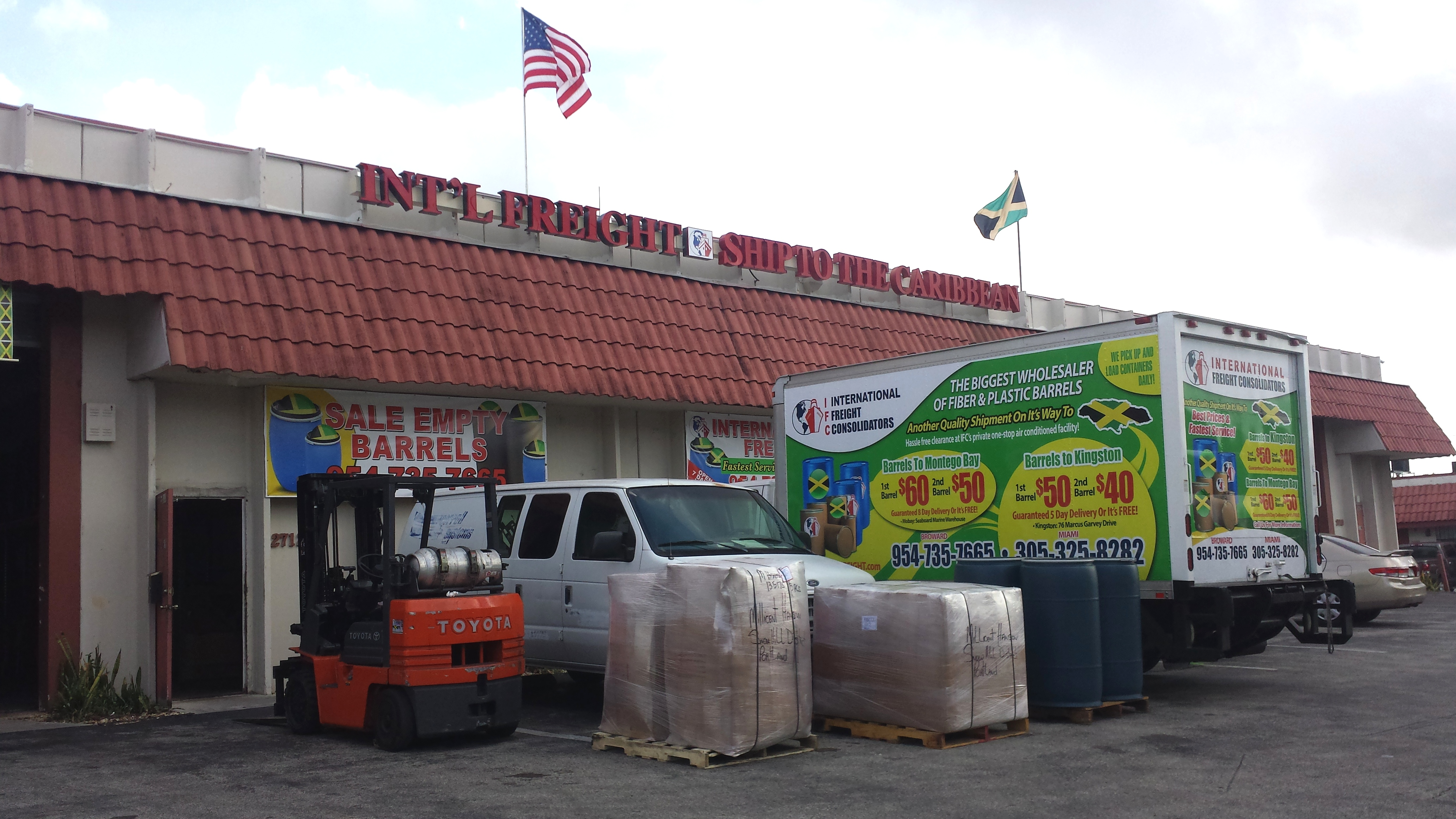 International Freight Inc. South Florida Office2